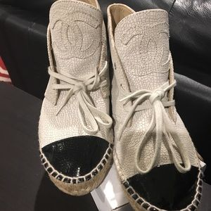 Chanel height top Espadrilles